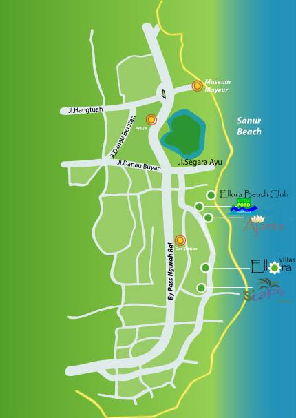 Location Of Ajanta Villas