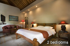 Villas in Sanur with Ajanta